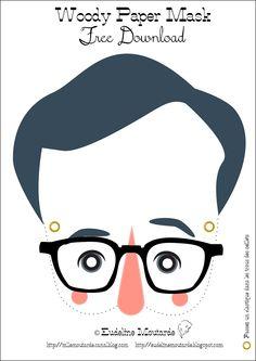Masker: Woody Allen, by Eudeline Mosterd