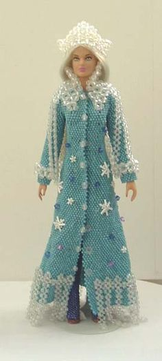 Снежная королева | biser.info - всё о бисере и бисерном творчестве