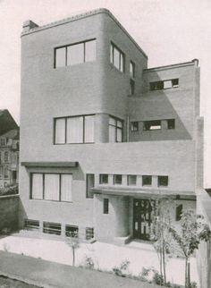 Hotel Wolfers 1930 - 1931 Elsene