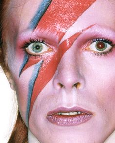 Bowie - Halloween Make-up inspiration
