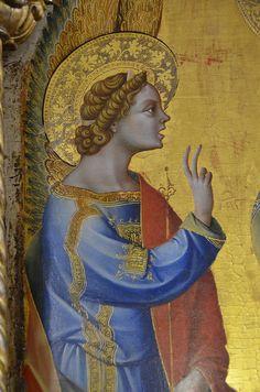 Lorenzo Veneziano ~ Annunciation (detail), 1371