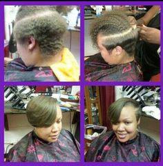 )) Natural Hair Glory Pressed, Straighten Natural Hair