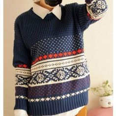 Unique Vintage Pattern Weave Neck Sweaters for only $28.00 ,cheap Sweaters & Cardigans - Clothing & Apparel online shopping,Unique Vintage Pattern Weave Neck Sweaters is the perfect christmas gift for her! It is beautiful and unique.