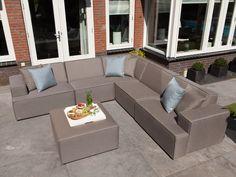 Gartenlounge metall  AROSA Lounge Garten Sofa 2-Sitzer #garten #gartenmöbel #gartensofa ...