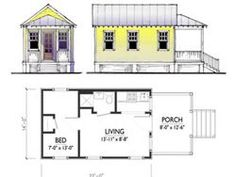 tiny house plans bing images - Tiny House Blueprints