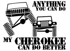 Cartoon Jeep - Great Lakes The largest offroad forum in the . Jeep Stickers, Jeep Decals, Vinyl Decals, Jeep Grand Cherokee Laredo, Jeep Grand Cherokee Limited, Jeep Xj, Jeep Truck, Jeep Quotes, Jeep Sayings