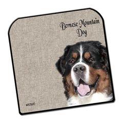 Muismat met Hondenfoto - Berner Sennen - Woezedoes