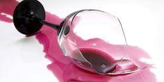 Cómo eliminar manchas de vino