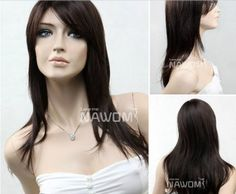 miss girls wig elegance medium long wig dark brown wigs for women stylish wigs expert ZL602-2-33 by Arctic Ocean Hairpieces. $48.99. wigs Handcraft:we use the top handcraft which named YAKE. This craft will make the hair style more nature and looser,the style will also be kept for longer time.. Size:This Wig comes with a one size fits all, thanks to the elastic strap. This provides additional comfort, as well as confidence.. Fiber:The roots of the synthetic hairs...