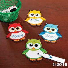 Owl Dry Erase Magnets