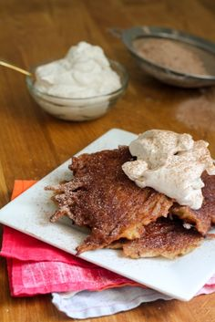 Can latkes be a dessert? Is the Pope Catholic? Err I mean is Andy Cohen Jewish? What I'm trying to say is yes! Mexican Chocolate Latkes are here.