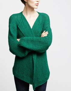 emerald green cardigan – get the pattern to knit your own or buy pre-knitted! (fashion, style, sweater, DIY)