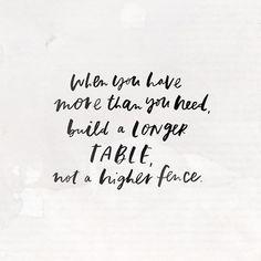 a longer table #friends #love