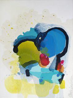 "Saatchi Online Artist: Claire Desjardins; Acrylic, 2013, Painting ""As If"""