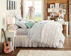 Teenage Girl Bedroom Ideas | Small Spaces Storage | PBteen