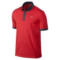 Nike Ultra 2.0 Men's Rory Golf Polo Shirt Red (599018-619) | Clickgolf.co.uk