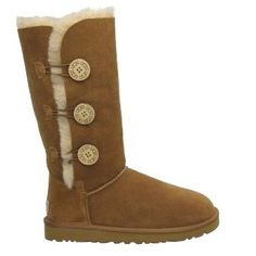 Ugg Bailey Button Triplet Boots 1873 Chestnut sale  $89.00