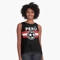 """Peru Jersey Shirt Soccer World Cup Futbol"" Contrast Tank by 7United   Redbubble"