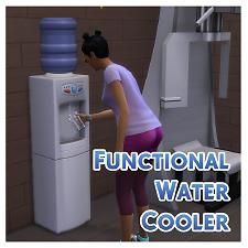 Mod The Sims - Functional Aqua Pura Water Cooler