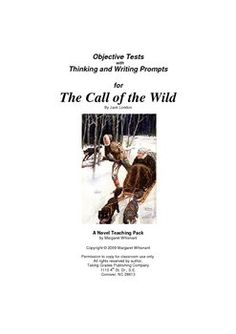 this comprehensive lesson plan includes daily lessons  the call of the wild novel study guide
