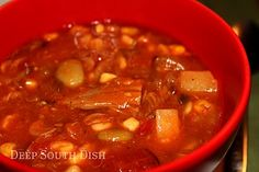 Southern BBQ Pork Brunswick Stew