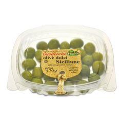 IT   OLIVE VERDI DOLCI MEDIE SICILIANE: le olive più famose al mondo, le nocellara del belice con il loro sapore unico. ogni consumatore, dopo il primo assaggio,corre a ricomprarle.  EN   GREEN SWEET CASTEL VETRANO SICILIAN OLIVES: the best-selling olives around the world. nocellara del belice.a unique taste that consumers love and go searching for after their first experience.  http://www.ficacci.com/scheda.asp?id=385&idgamma=42