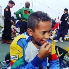 "Lewis Hamilton #YoungHammertime"""
