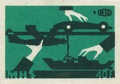 Hungarian matchbox label by Shailesh Chavda, via Flickr