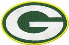 Ggreen Bay Packers logo machine embroidery design. Machine embroidery design…