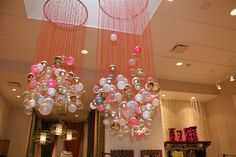 Holiday Ball-deliers    Free People store decor
