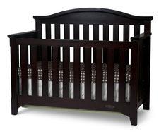 Child Craft Hawthorne Lifetime Convertible Crib, Espresso - http://activelivingessentials.com/baby-essentials/child-craft-hawthorne-lifetime-convertible-crib-espresso/