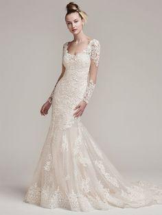 3a43ceadfa7 Modern wedding dress www.mccormick-weddings.com Virginia Beach Sottero  Midgley