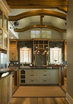 710 best Amazing Kitchens images on Pinterest in 2018   Kitchens     Well can t redo much of kitchen but liking this  Rustic Kitchen Design Ideas  and Decor by Interior Architecture    Herlong   Associates    Coastal