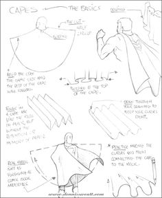 How to draw capes by dennissweatt on deviantART