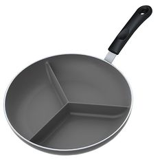 Triple Divided Skillet - 10 Inch