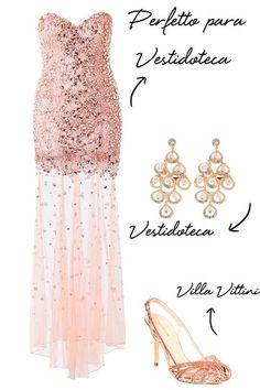 Copie o look: vestido de festa com transparência