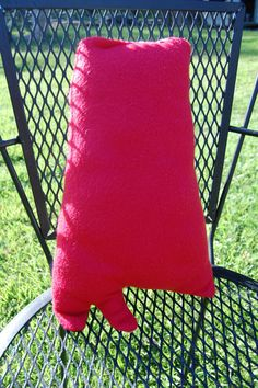 Alabama Shaped Throw Pillow by HunnyHolla on Etsy, $10.00