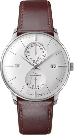 @junghansgermany Watch Meister Agenda #bezel-fixed #bracelet-strap-leather #brand-junghans #case-depth-12-2mm #case-material-steel #case-width-40-4mm #date-yes #day-yes #delivery-timescale-7-10-days #description-done #dial-colour-silver #gender-mens #luxury #movement-automatic #official-stockist-for-junghans-watches #packaging-junghans-watch-packaging #power-reserve-yes #style-dress #subcat-meister #supplier-model-no-027-4364-01 #warranty-junghans-official-2-year-guarantee…
