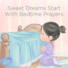 Thank you for teaching your little blessings to pray each and every day. May all their dreams be sweet! Precious Moments Quotes, Precious Moments Coloring Pages, Precious Moments Figurines, Good Night Blessings, Little Blessings, Bedtime Prayer, Pictures Of Jesus Christ, Emoji Images, Christmas Gift Tags Printable