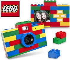 câmera fotográfica de lego