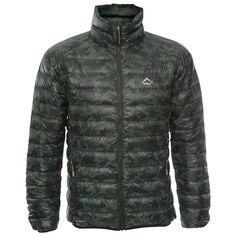 K-Way Men's Printed Drake Jacket - Fatigue/Camo Mountain Biking, Drake, Outdoor Gear, Camo, Hiking, Winter Jackets, Camping, Running, Printed