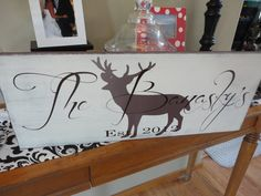 Hey, I found this really awesome Etsy listing at https://www.etsy.com/listing/111285405/vintage-family-name-sign-with-custom