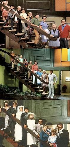 The Brady Bunch house map floorplans upstairs Go Here for