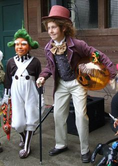 Willy Wonka kids costume / Disfraz de Willy Wonka #Oompaloompa