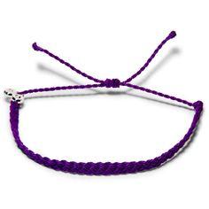 Deep Purple Geflochten  - Weltfreund Armbänder