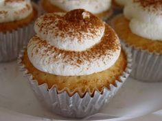 Tres Leches cupcakes-- Martha's Recipe  Use foil liners