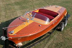 Wooden Boats  Classic Chris Craft