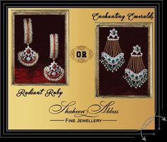 Which one would you opt for this wedding season, our #RadiantRubies or the #EnchantingEmeralds?
