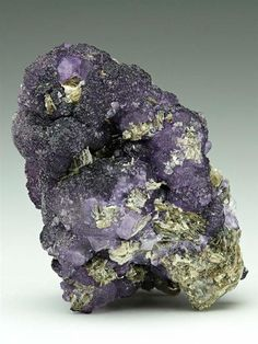 A rare botryoidal fluorite from the occurrence at Cínovec/Zinnwald area that straddles the Germany & Czech Republic border.