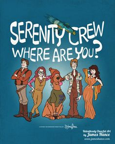 """""""The Shiny Gang"""" Brings Firefly and Scooby-Doo Together"""